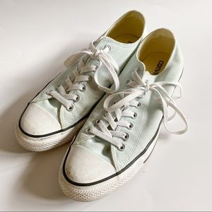 Converse Blue All Star Low Top Unisex Sneakers